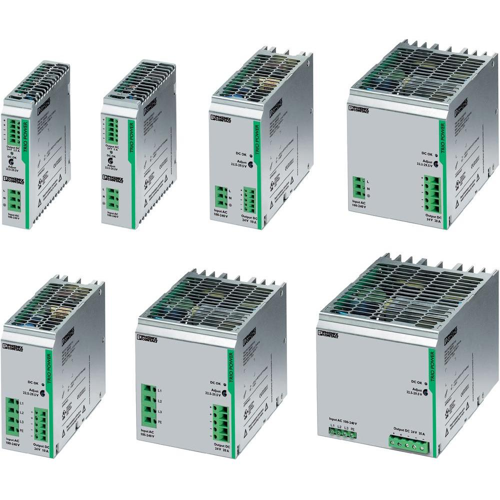 Phoenix Contact Power Supply Unit Trio Ps 1ac 24dc 2